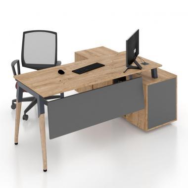 Комп'ютерний стіл Co_d Salita Графіт 35/11
