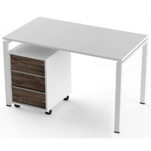 Стол + тумба Salita Promo (TX1218) Белый