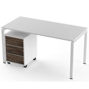 Стол + тумба Salita Promo (TX1418) Белый