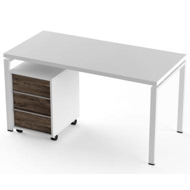 Стол + тумба Salita Promo (TX1436) Белый