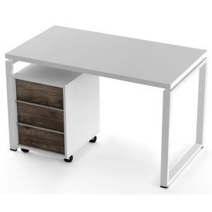 Стол + тумба Salita Promo (QX1236) Белый