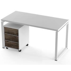 Стол + тумба Salita Promo (QX1436) Белый