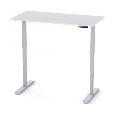 Регулируемый стол компьютерный 2х-моторный Salita Электро Белый 18 мм (E1-140)