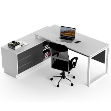 Офисный стол угловой Salita Promo 18 мм (WGQ17-18)