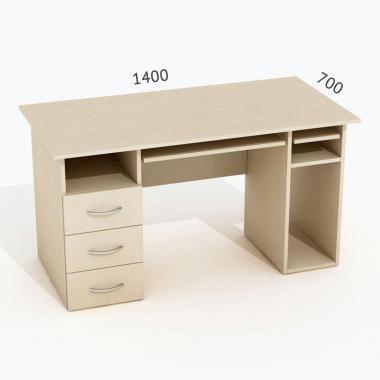 Стол Salita 2z Береза 18мм (140*70*75)